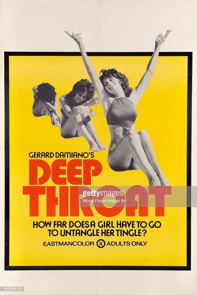Actress Linda Lovelace Appears On A Poster For The Pornographic Film Picture