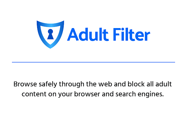 Adult Filter Chrome Web Store 1