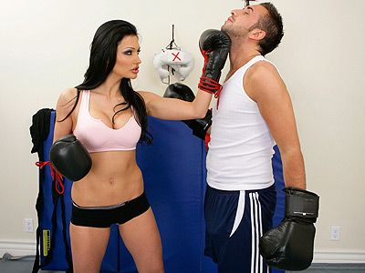 Aletta Ocean Giving A Uppercut Aletta Ocean Pinterest