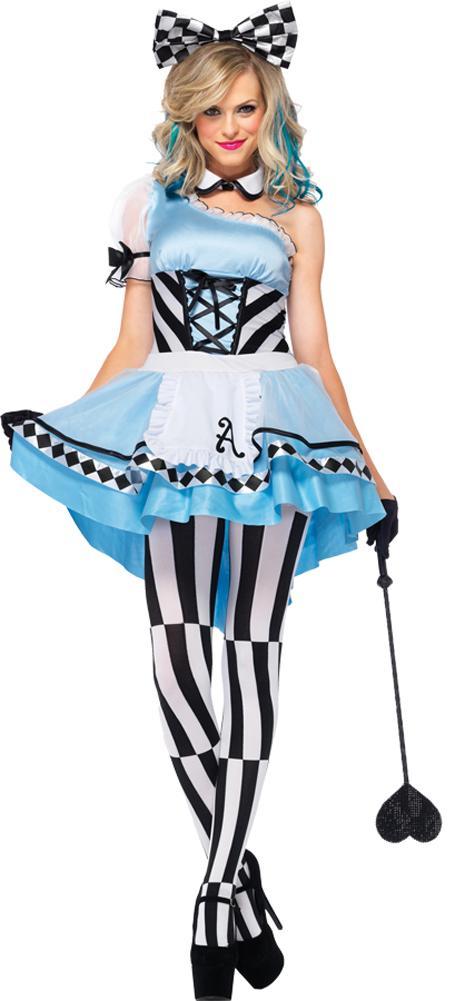 Alice In Wonderland Costume Alice Psychedelic Piece Adult Costume Xxlarge Fairytale Costume