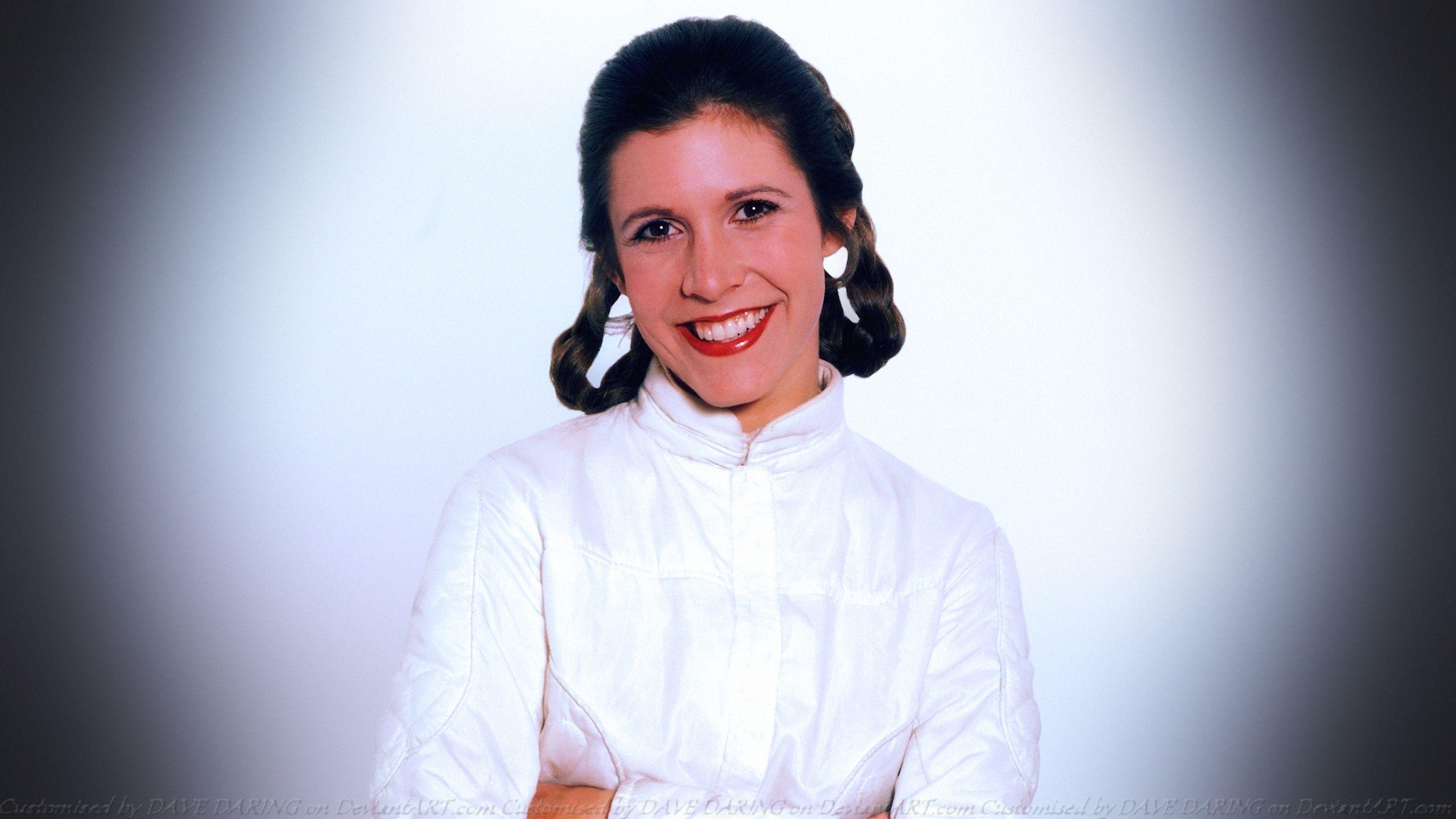 And Princess Leia Porn Carrie Fisher Princess Leia Dave Daring On Deviantart