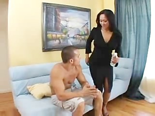 Asian Milf Fucking Her Sons Best Friend 1