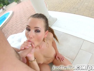 Asstraffic Taylor Sands Teen Gets Fucked In The Ass