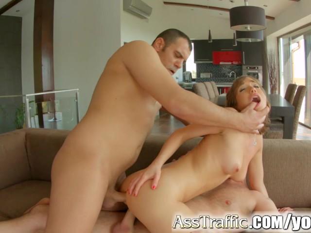 Asstraffic Tina Hot Enjoys Anal Threesome 2