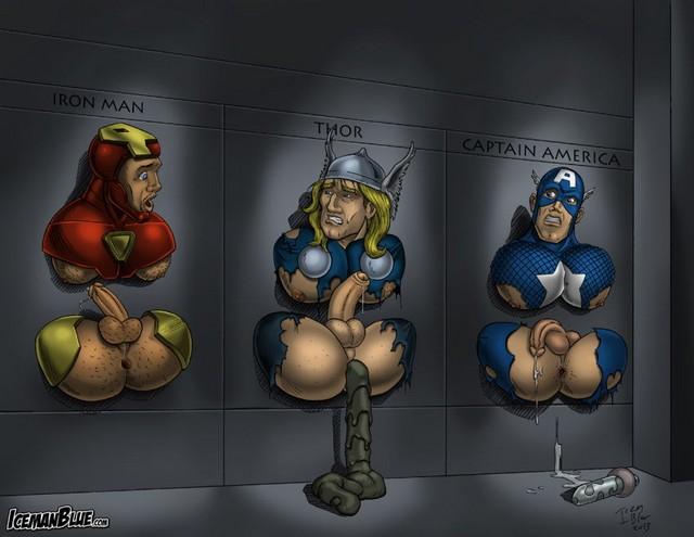 Avengers Captain America Gay Porn Pics