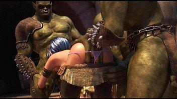 Babes Destroyed Brutal Orcs 1