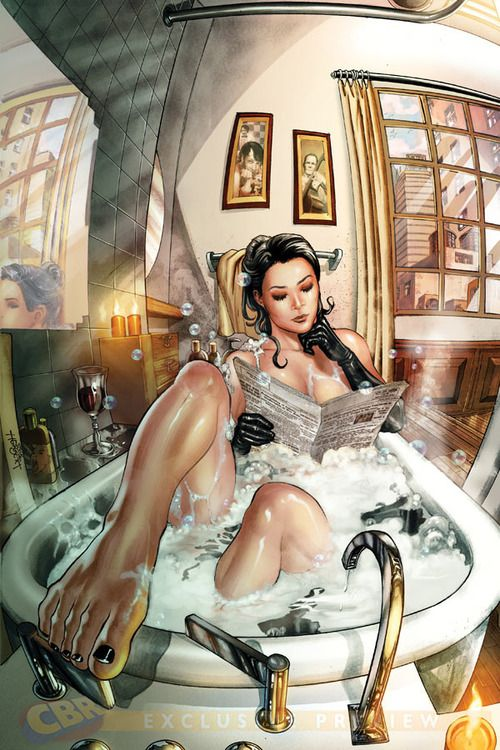 Best Comic Book Girls Images On Pinterest Wallpapers