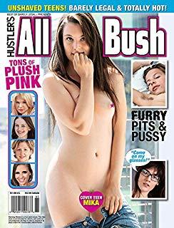 Best Of Barely Legal Presents Hustler All Bush Porn Magazine 1