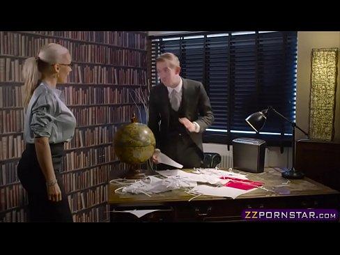 Big Dicked Boss Fucks His Busty Secretary In The Office 2