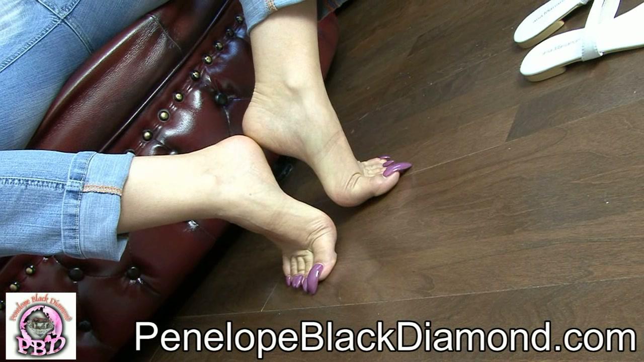 Black Diamond Feet Penelope Black Footjob Download Penelope Black Diamond Footjob
