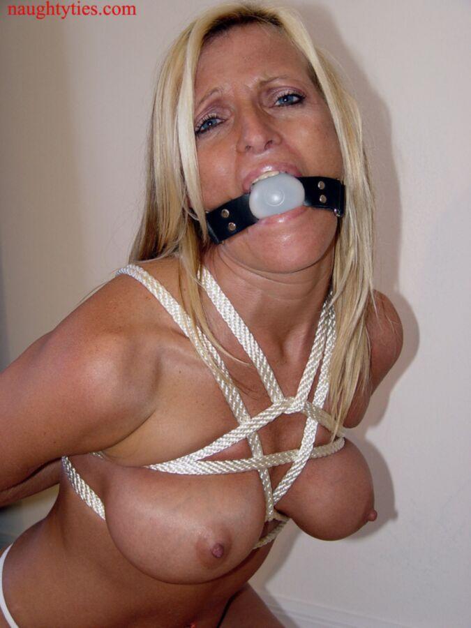 Blonde Ball Gag Bondage Ball Gagged Blonde Bondage Porn
