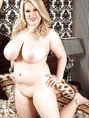 Blonde Janne Hollan Loosing Huge Hooters And Erect Nipples