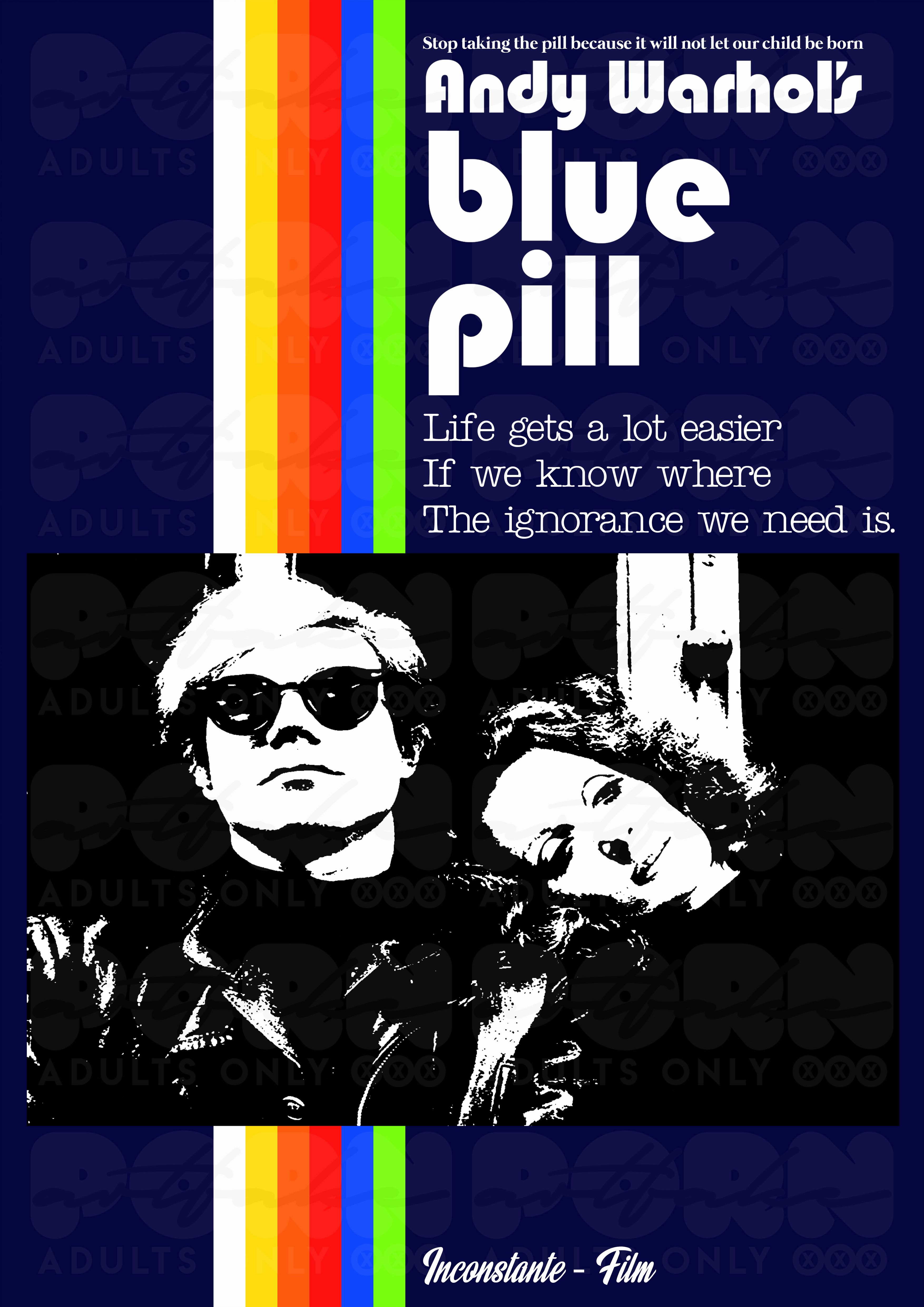 Blue Pill Blue Movie A Re Reading Of The Poster For The Movie Blue