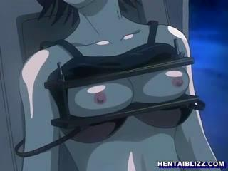 Bondage Hentai Maid Gets Punishment And Hard Fucked In The Dungeon 4
