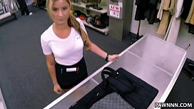 Brown Bunny In Boots Gives Up Ass For Cash In Pawn Shop 2
