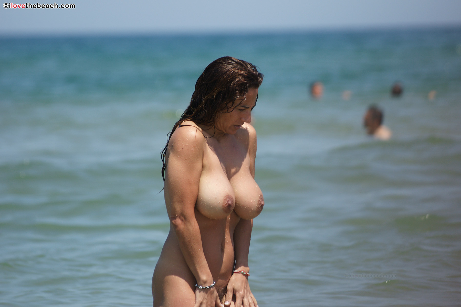 Busty Amateur Nudist With Big Tits Gallery