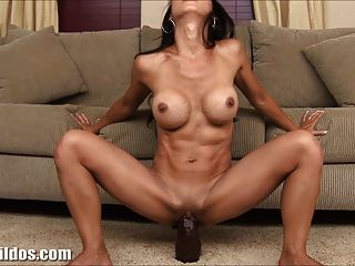 Busty Babe Fucking A Brutal Dildo Porn Tube Video 2