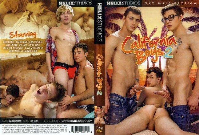 California Boys Helix Studios Gay Porn Dvd
