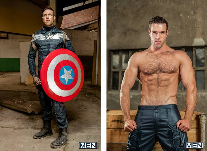 Captain America A Gay Parody Starring Alex Mecum Paddy 3