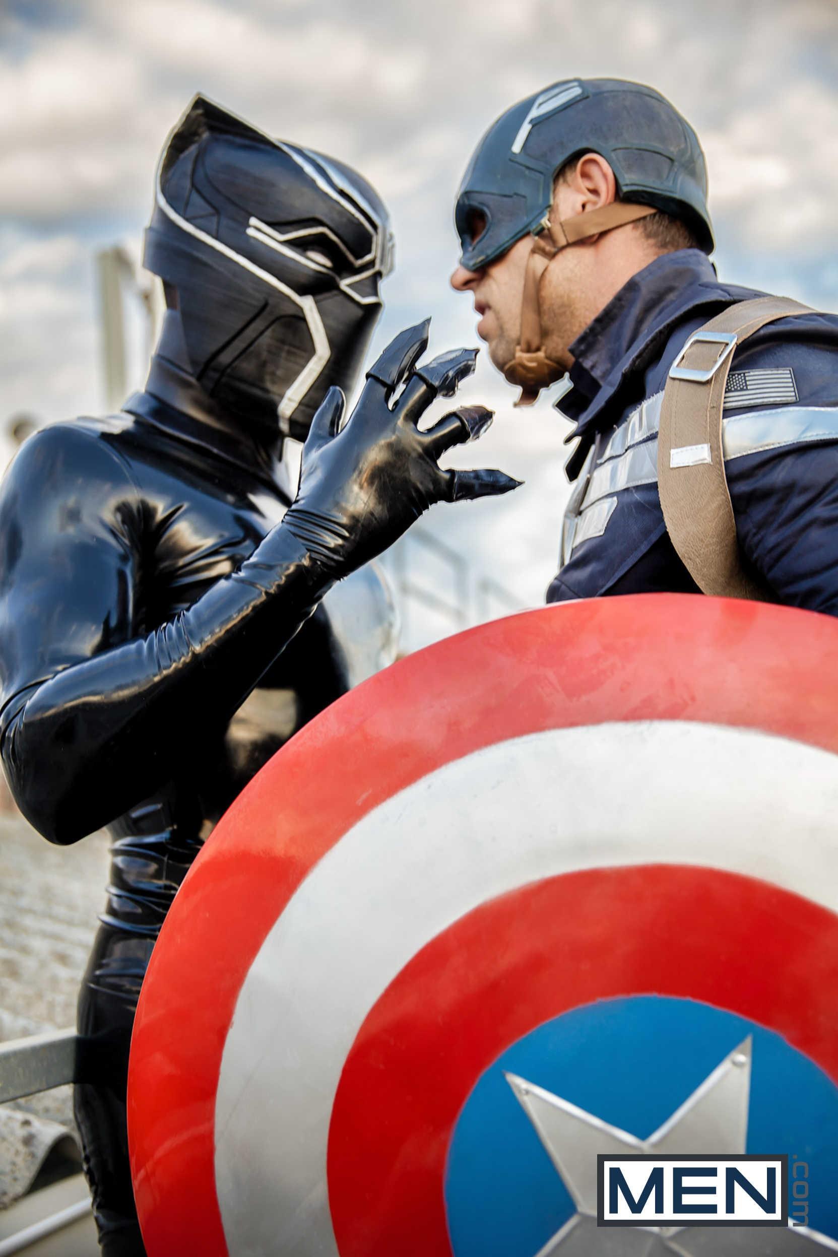 Captain America Gay From Super Gay Hero At Justusboys 1