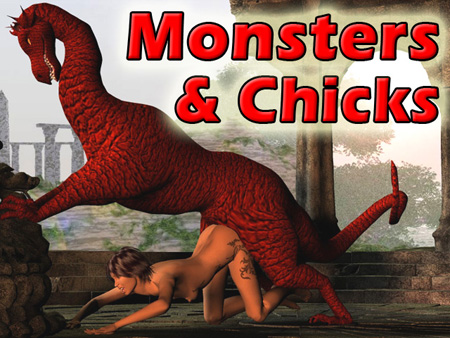 Chicks And Monsters And Chicks Monster Sex Hentai 1