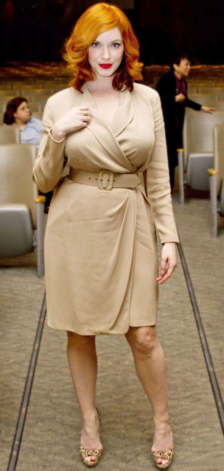 Christina Hendricks Curves Pinterest Christina Hendricks Black Body And Curvy
