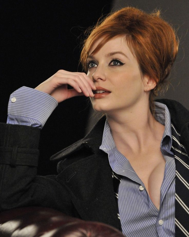 Christina Hendricks Probably Not As Obsessed With Mad Men As I Should
