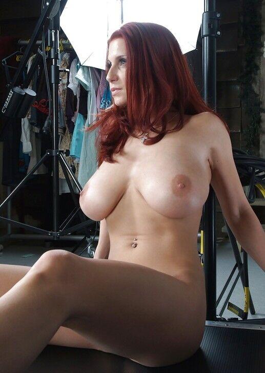 Big Tits Redhead Threesome
