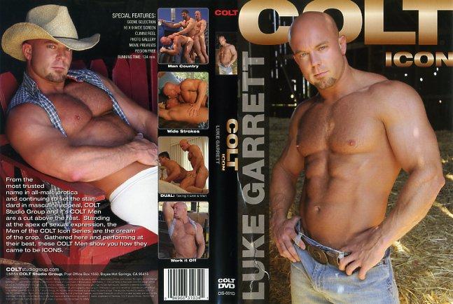 Colt Icon Luke Garrett Colt Studio Gay Porn Dvd