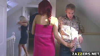 Danny Drills Aylin Diamonds Shaved Petite Pussy