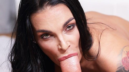 Deepthroat With Sandra Sturm Busty German Milf Hardcore Pov Porn Video