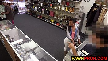 Ebony Babe Traded Pussy For Cash