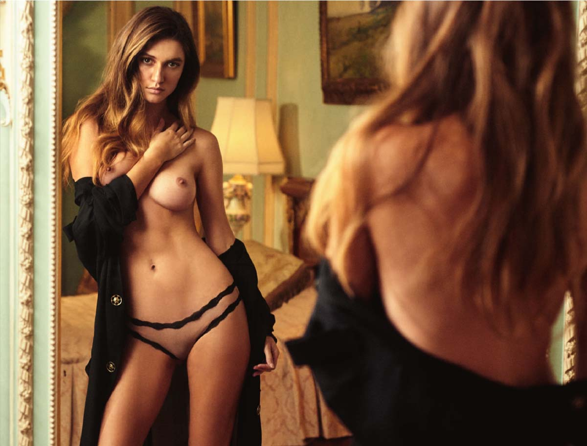 Elizabeth Elam Nude Naked Is Normal In Playboy Magazine Snadgy