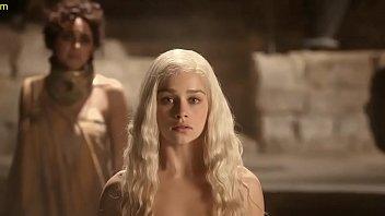 Emilia Clarke Nude Scene In Game Of Thrones Series 3