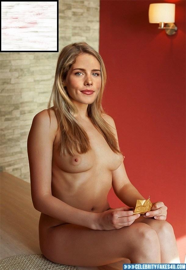 Emily Bett Rickards Fake Nude Porn