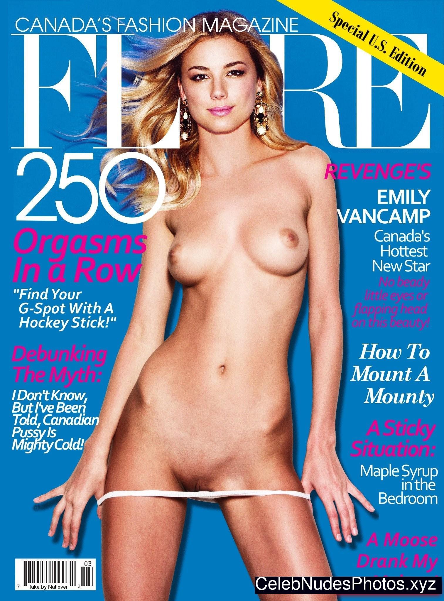 Emily Vancamp Real Celebrity Nude Sexy