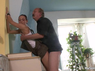 Father In Law Licks And Fucks Sons Girl