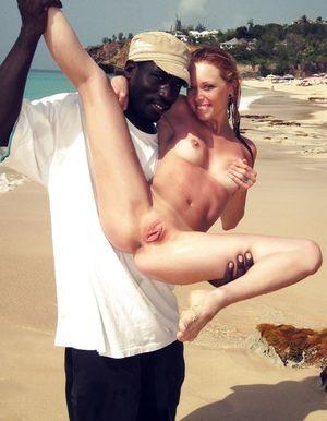Free Interracial Vacation Porn Pics And Interracial Vacation 2