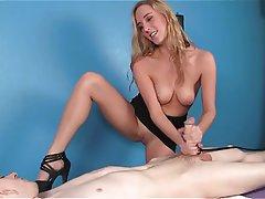 Free Young Teen Movies Femdom Massage Blonde Femdom Handjob Teen