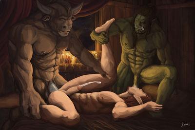 Gay Elf Boys Blood Elf Gay Green Kosiaks Male Only Orc