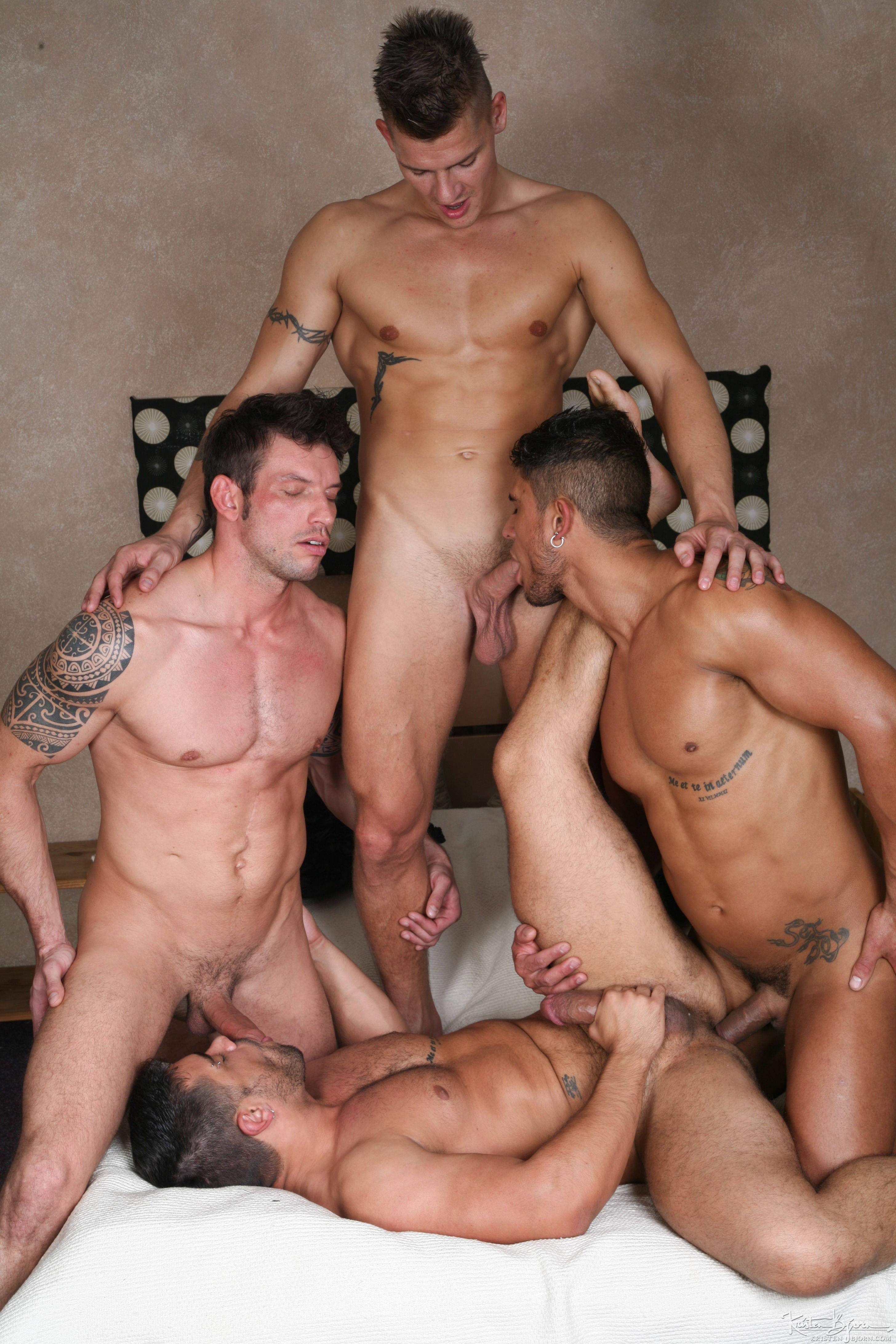 Gay Anal Orgy