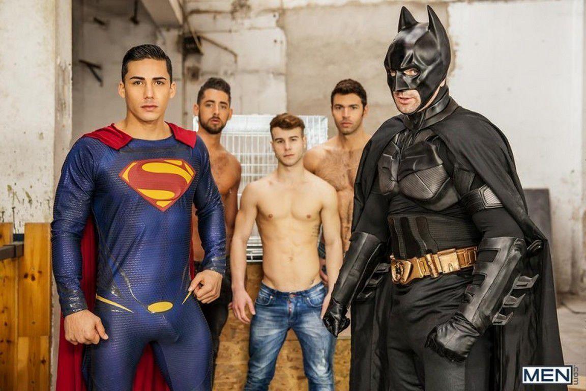 Gay Superman Parody Jizz Orgy Batman Superman A Gay Parody Part