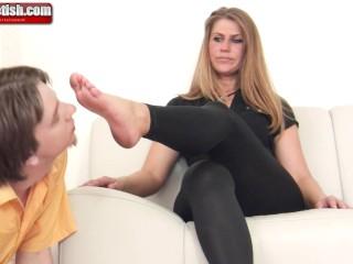 German Foot Domination Kathrin