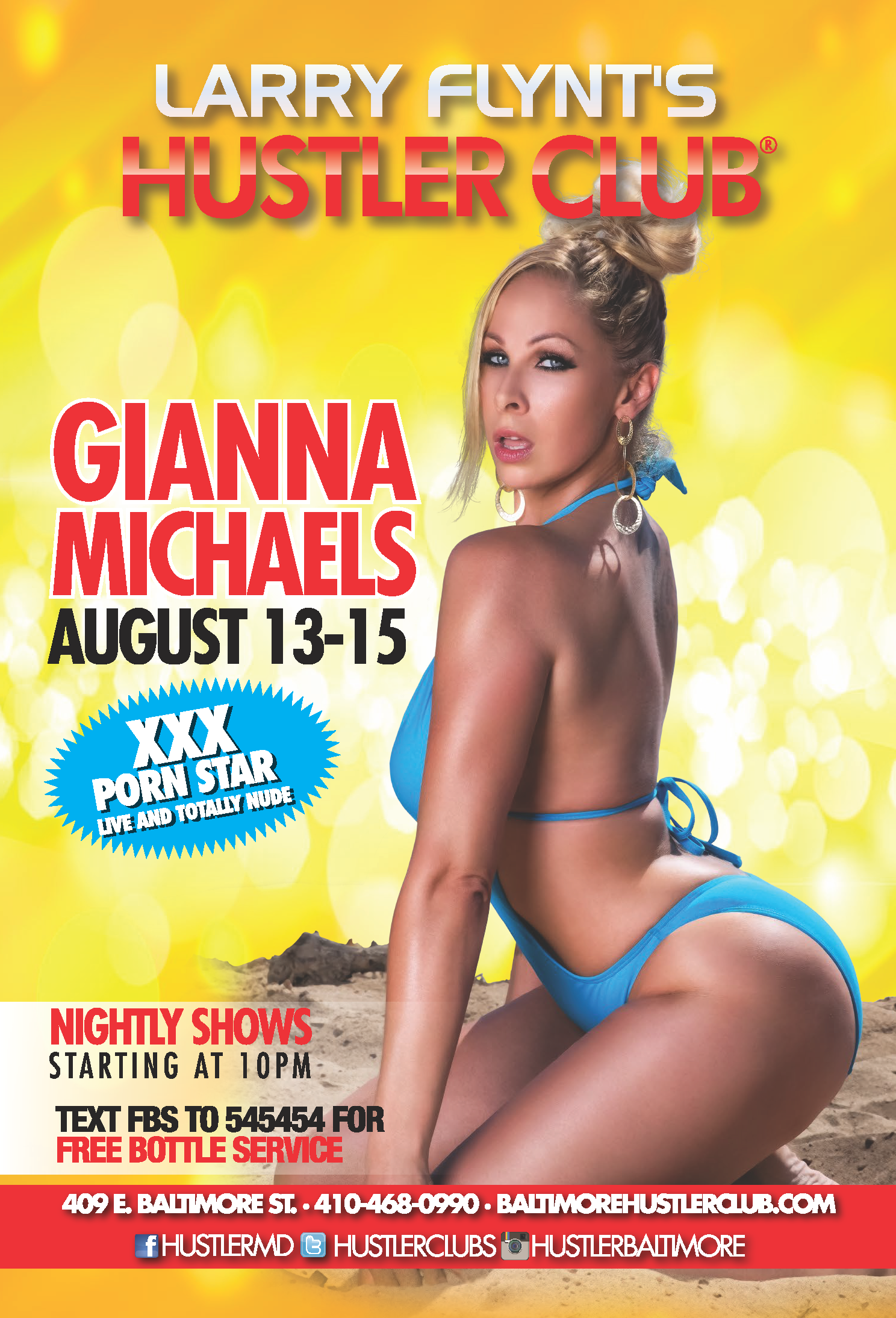 Gianna Michaels Live At The Hustler Club