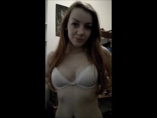 Gingerpuss Very Cute Redhead Gives Blowjob And Swallow 7