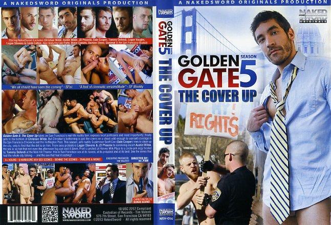 Golden Gate Season The Cover Up Naked Sword Gay Porn Dvd