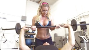 Gorgeous Sports Babe Is Sucking Her Instructors Big Cock