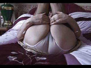 Granny Lingerie Porn Videos Granny In Her Lingerie And Nylons