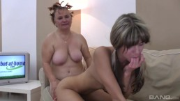 Granny Mommy And Daughter Lesbian 2