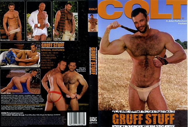 Gruff Stuff Colt Studio Gay Porn Dvd